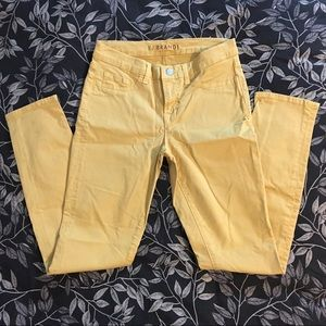Yellow J Brand jeans